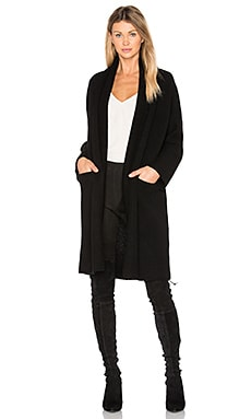 Robe Sweater in Black