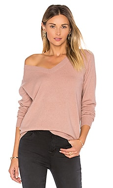 Vee Sweater in Rose Hip