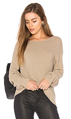 Textured Pullover in Khaki
