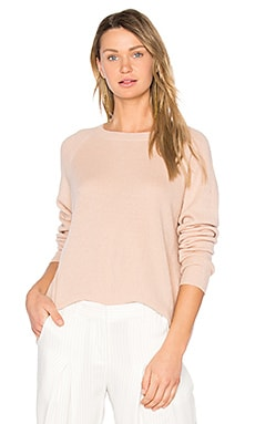 Cashmere Pullover in Peach