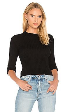 Rib Mock Sweater