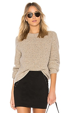 Crop Saddle Sweater