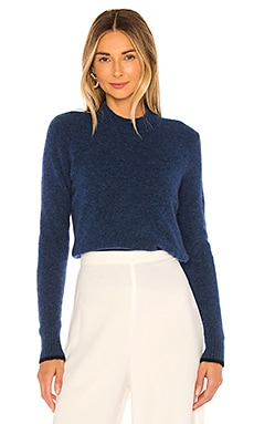 Contrast Tip Pullover Vince $107