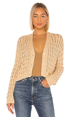 Open Cable Cardigan Vince $345