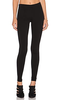 Vince Scrunch Ankle Legging in Black