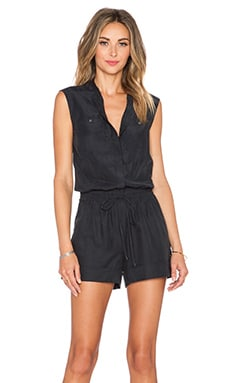 Vince Romper in Black
