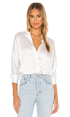 Band Collar Blouse Vince $253