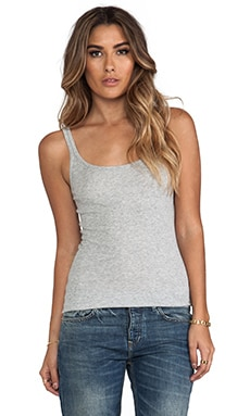 Vince Favorite Tank in Heather Grey