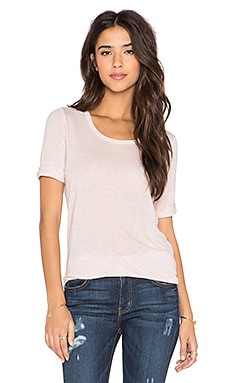 Vince Elbow Sleeve Tee in Lilac