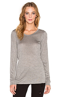 Long Sleeve Tee in Dark Heather Grey