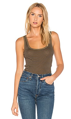 Striped Scoop Tank