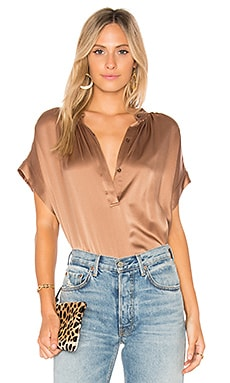Shirred Neck Blouse