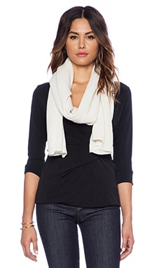 Vince Thermal Scarf in Winter White