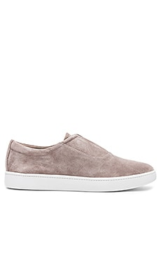 Viktor Sneaker in Light Woodsmoke Suede