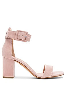 Blake Heel in Blush Kid Suede