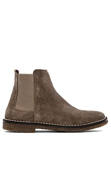 Vince Cody Bootie with Sheep Shearling Lining in Flint