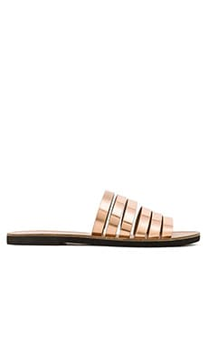 Vince Carolina Sandal in Rose Gold