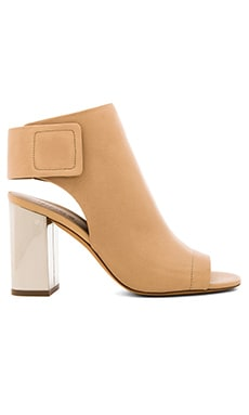 Vince Faye Bootie in Nude & Pewter