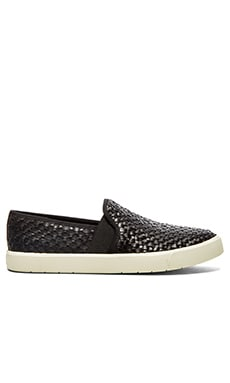 Vince Preston Slip-On in Black