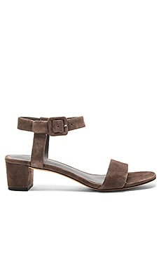 Vince Rena Sandal in Dark Smoke