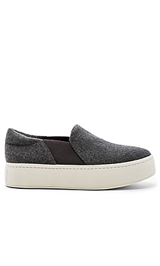 Warren Slip On Sneaker in Grey
