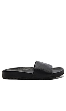 Gavin Sandal in Black Deerskin