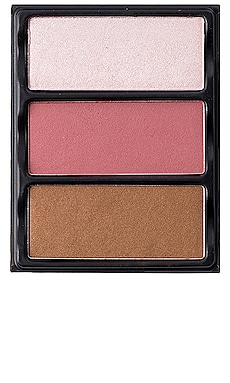 Theory I Blush, Bronzer & Highlighter Palette Viseart $45