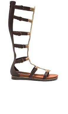Vis-a-Vis x Rebels Velora Sandal in Bronze