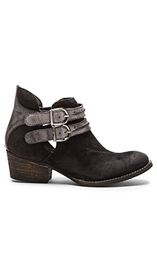 Rebels Calista Bootie in Black & Grey