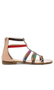 Vis-a-Vis x Rebels atalia Sandal in Natural Multi