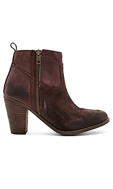 Shelby Booties in Chocolate