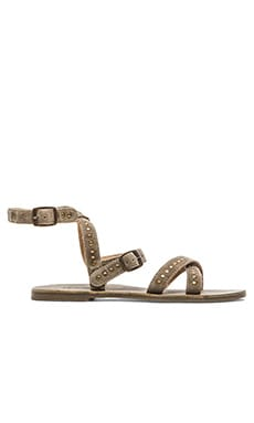 Rebels Char Sandal in Dark Dust