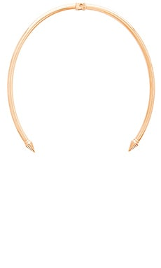 Vita Fede Thea Crystal Choker in Gold