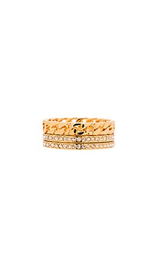Vita Fede Catena Ring in Gold