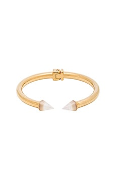 Mini Titan Stone Bracelet in Mother of Pearl & Gold