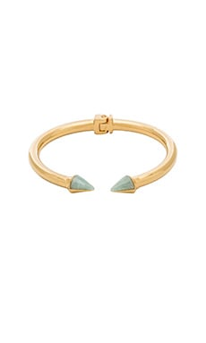 Vita Fede Mini Titan Split Stone Bracelet in Gold & Russian Amazonite