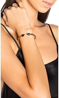 Vita Fede Mini Titan Stone Bracelet in Blue Sandstone & Gold