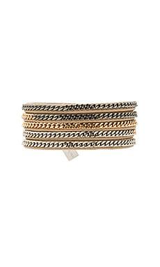 Vita Fede Capri 5 Wrap Bracelet in Multi & Nude