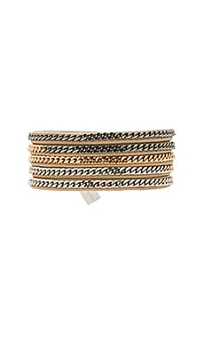 Capri 5 Wrap Bracelet en Multi & Nude