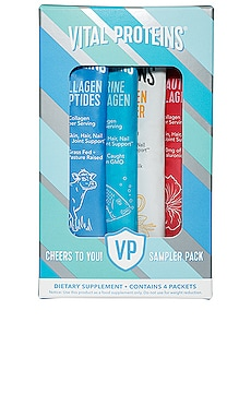 Cheers to You Sampler Pack Vital Proteins $10