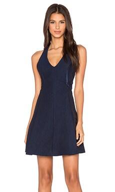 VIVIAN CHAN Stephanie Dress in Blueberry