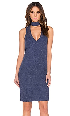 VIVIAN CHAN Sabrina Dress in Brewing Blue