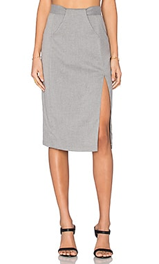VIVIAN CHAN Polina Skirt in Steel