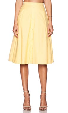 VIVIAN CHAN Sioban Skirt in Daffodil