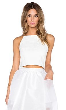VIVIAN CHAN x REVOLVE Lauren Top in White