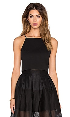 VIVIAN CHAN x REVOLVE Lauren Top in Black