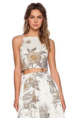 VIVIAN CHAN Lauren Top in Floral Print