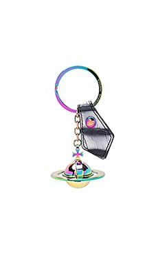 Round Orb Gadget Key Ring