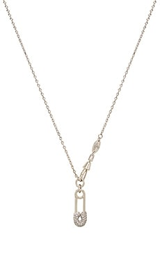 Clovis Safety Pin Pendant