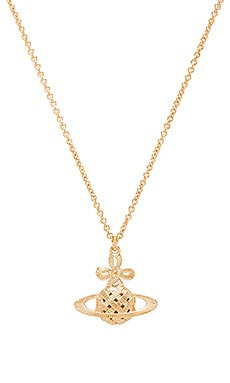 Vivienne Westwood Simone Large BR Pendant in Yellow Gold